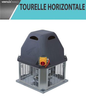 Tourelle d'extraction 7500 m3/h