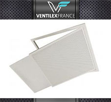 feature box Grilles porte-filtre 595 x 595